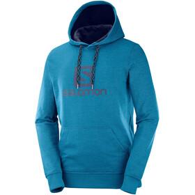 Salomon Logo Veste à capuche Homme, lyons blue